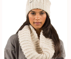 Element Eden Women's Mella Tube Infinity Scarf Ivory Heather ~ CLOSING SALE!, an item from the 'To Infinity (Scarf) and Beyond' hand-picked list