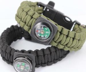 Survival Bracelets with Fire Starter Outdoor Self-rescue - One item (Color vary), an item from the 'Camping Gear' hand-picked list
