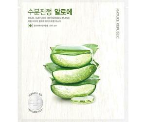 NATURE REPUBLIC Real Nature Hydrogel Mask Aloe Vera - 5 pack - US Seller, an item from the 'Girls Night In' hand-picked list