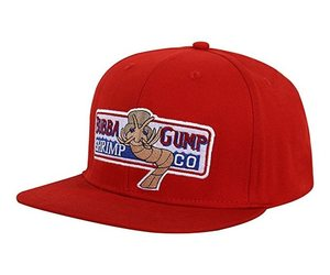 VORON 1994 Bubba Gump Shrimp CO. Baseball Hat Forrest Gump Costume Cosplay Embro, an item from the 'Awesome Baseball Hats' hand-picked list