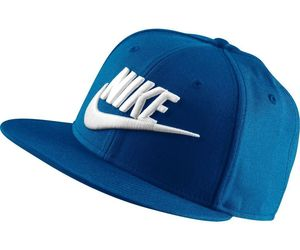 Men's Nike Futura True 2 Snapback Hat  blue jay/black/white 584169 433, an item from the 'Awesome Baseball Hats' hand-picked list