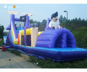 Cheap Bouncy Castle Giant Adult Challenge Inflatable Obstacle Course Game, an item from the 'It's all Fun and Games!!' hand-picked list