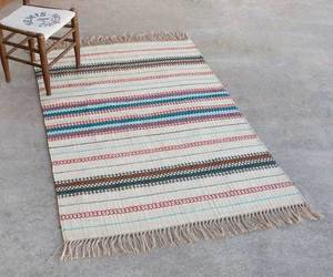 BOHO STRIPE JUTE RUG, 4' X 6' , an item from the 'No Place Like Home' hand-picked list