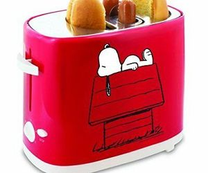 """The Original"" SNOOPY HOT DOG TOASTER (Collectible) BRAND NEW Pops-Up Hot Dogs&B, an item from the 'Friends in the Kitchen' hand-picked list"