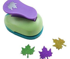 Puncher Scrapbooking Punch Maple Leaf Shaped Hole Punch, an item from the 'Leaf It Be' hand-picked list