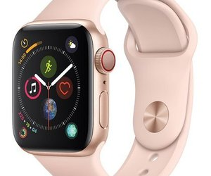 Apple Watch Series 4 GPS+CELL 40mm Gold Aluminum  Pink Sand Sport White Box, an item from the 'Time to Think of Those New Year Resolutions' hand-picked list