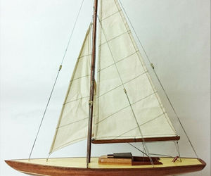 "24"" Dragon Wooden Sailing Boat Model, an item from the 'Community Picks: Nautical Isle of Paradise' hand-picked list"