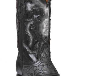 Western Boot Old Mejico Exotic Lizard Teju Black ID 301075, an item from the 'The Kit and Caboodle ' hand-picked list