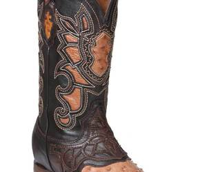 Western Boot Old Mejico Exotic Ostrich Ranger Mad Dog ID 301092, an item from the 'The Kit and Caboodle ' hand-picked list