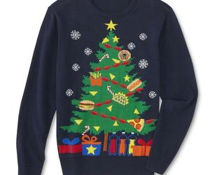 Route 66 Mens Ugly Christmas Tree Party Holiday Sweater XL Navy Blue, an item from the 'Ugly Sweater Party' hand-picked list