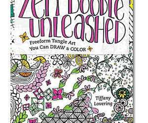 Zen Doodle Unleashed Coloring Book: Freeform Tangle Art, an item from the 'Color My World...' hand-picked list
