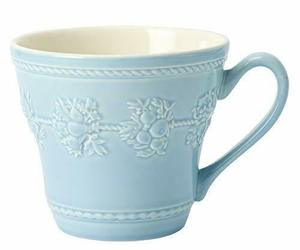 *[Regular imported goods] Wedgewood Festival Activity Blue Mug 58950106302, an item from the 'A Hue of my Favorite Things' hand-picked list
