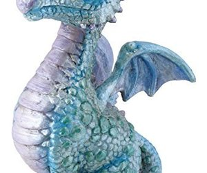 SUMMIT BY WHITE MOUNTAIN Blue Baby Dragon Figurine, an item from the 'Community Picks: Believe in Mystical Magic' hand-picked list