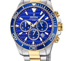 Festina Mens Watch Chronograph F20363/2, an item from the 'Rock Around the Clock' hand-picked list