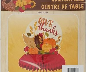 Fall Thanksgiving Harvest Give Thanks Table Centerpiece 10 inch w, an item from the 'Thanksgiving Table Decorations' hand-picked list