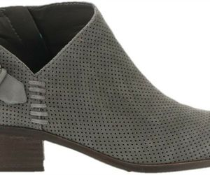 Vince Camuto Suede Booties Buckle Parveen Greystone 5.5M NEW A311049, an item from the 'Cute Booties' hand-picked list