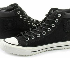 Converse Mens CTAS PC Boot  Leather 153675C Almost Black/Egret/Black Sizes 9 10, an item from the 'Shoes for Dudes' hand-picked list