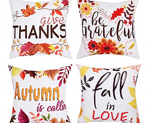 BLEUM CADE Pillow Covers Throw Pillow Cover Autumn Pillow Case Fall Daily Sofa, an item from the 'Fall Must Haves' hand-picked list