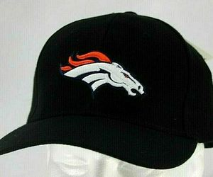Denver Broncos NFL Black Baseball Hat Adjustable, an item from the 'Awesome Baseball Hats' hand-picked list