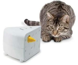 PetSafe® Cheese Cat Toy Interactive Hide and Seek Mouse Hands Free Automatic, an item from the 'Preying Kitties...' hand-picked list