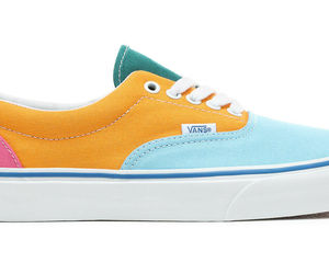 MEN'S VANS ERA VN0A38FRVOP (CANVAS) MULTI/BRIGHT DEADSTOCK BRAND NEW, an item from the 'Shoes for Dudes' hand-picked list