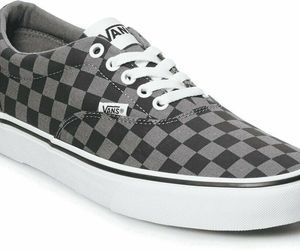MEN'S VANS DOHENY VN0A3MTFEO0 (CHECKERBOARD) BLACK/PEWTER DS BRAND NEW, an item from the 'Shoes for Dudes' hand-picked list