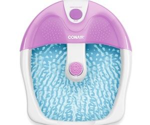 Conair Foot Spa/Pedicure Spa with Soothing Vibration Massage, Lavender Or White , an item from the 'Self Care' hand-picked list