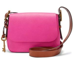 化石妇女'的Harper小斜挎包Hot Pink包ZB7212694,来自'Handbags for Her' hand-picked list