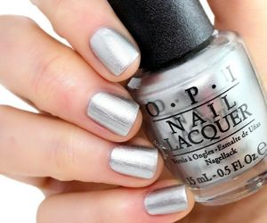 OPI 50 Shades of Grey ~MY SILK TIE~ Silky Silver Shimmer Nail Polish Lacquer F74, an item from the 'Supernatural Woman' hand-picked list