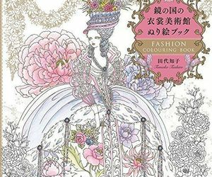 'NEW' Fashion and Beauty Coloring Book by Tomoko Tashiro / Japan Elder, an item from the 'Color My World...' hand-picked list