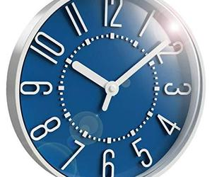 Westclox 33215SB 10-Inch Storm Blue Wall Clock, an item from the 'A Hue of my Favorite Things' hand-picked list