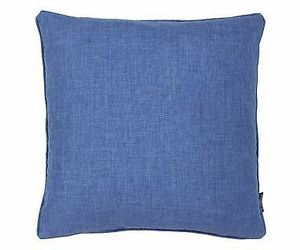 "2 X PLAIN DENIM BLUE PIPED 18"" - 45CM CUSHION COVERS, an item from the 'A Hue of my Favorite Things' hand-picked list"