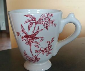 RED BIRD TOILE Elisabeth Trostill for Andrea by Sadek 12 oz Mug Cup, an item from the 'Birds of a Feather....' hand-picked list