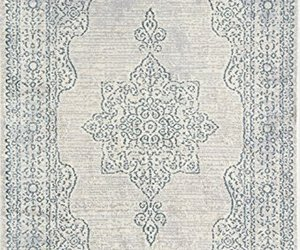 Rugs America BH250A Welby Cyan Accent Rug, 2'x4' , Blue, an item from the 'A Hue of my Favorite Things' hand-picked list
