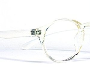 Protective Computer Glasses by Phonetic Eyewear Alpha Clear Crystal, an item from the 'Safe For Work' hand-picked list