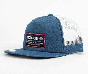 ADIDAS Originals Patch Trucker hat cap Thrasher Trefoil Snapback relaxed logo, an item from the 'Summer Menswear' hand-picked list