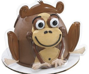 Monkey Fingeroo Small Cake Topper, an item from the 'Friends in the Kitchen' hand-picked list