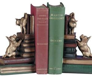 Bookends Bookend Dog And Cat Playful Friends Dogs Cast, an item from the 'Dog and Cat Lovers' hand-picked list