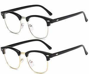 Blue Light Blocking Glasses for Women Men Half/Square Frame Anti Eyestrain Compu, an item from the 'Go Go Gadgets' hand-picked list