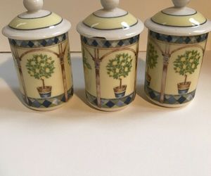Royal Doulton Carmina(set of 3) Spice Jars, an item from the 'The Spice is Right' hand-picked list