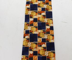 Ermenegildo ZEGNA Horse Zoo Orange Pattern 100% Silk men's TIE - NWT, an item from the 'Community Picks: Horsin' Around' hand-picked list