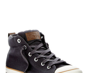 Converse Mens Chuck Taylor Street Mid Canvas 148389C Storm Wind (Charcoal) NWB, an item from the 'Mens Shoes' hand-picked list