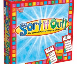 SORT IT OUT! FAMILY BOARD GAME BY UNIVERSITY GAMES 01026 - NEW SEALED BOX 2009, an item from the 'Games People Play' hand-picked list