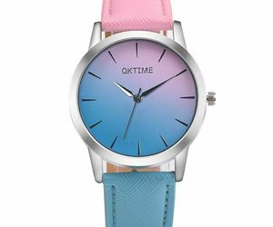 Fashion Leather Quartz Watches Women Blocking Color Ladies Bracelet Wristwatches, an item from the 'Rock Around the Clock' hand-picked list