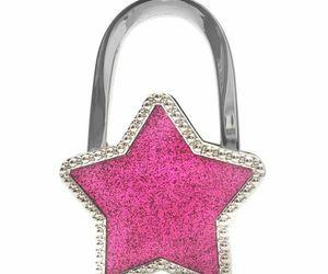 Handbag Hook Non Slip Alloy Stars Purse Holder Office Desk Table Bag Hanger Tool, an item from the 'Rockstars' hand-picked list