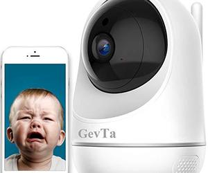 GevTa Baby Monitor, 1080P FHD Home WiFi Security Baby Camera Sound/Motion Detect, an item from the 'Smart Home and WiFi' hand-picked list
