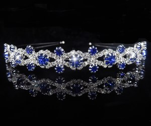 Princess Tiara Bridal Prom Crown Girl Elegant Hairbands Pearl Crystal Wedding Ha, an item from the 'Girls Formal Occasion' hand-picked list