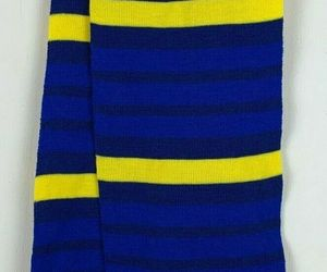 Paw Patrol Knit Scarf Kids OSFM Nickelodeon Blue Yellow Stripe NWOT Halloween , an item from the 'Kids Hats, Mittens, and Scarves' hand-picked list