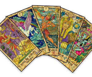 Unicorn Tarot Card Deck, an item from the 'Tarot Time' hand-picked list