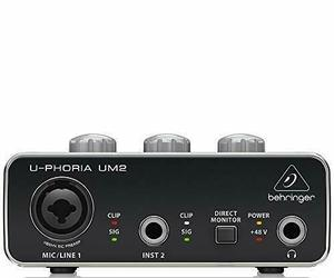 BEHRINGER UM 2 USB Audio Interface FREE shipping Worldwide, an item from the 'Go Go Gadgets' hand-picked list